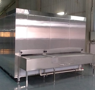 China High Cost Effective 300kg/h Tunnel Freezer for Frozen Food