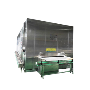 China High Effective Impingement Iqf Tunnel Freezer/ Freezing Tunnel Machine for Kinds of Fish