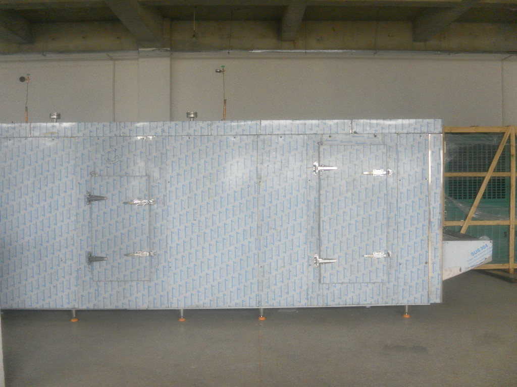 China High Quality 1300kg/h Tunnel Freezer for Meat And Seafood Processing