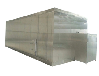 China High Quality Fluidized Bed Freezer / Fluidized IQF Quick-freezer For Fruit And Vegetable