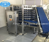 Spiral Freezer 1500kg/h Stainless Steel/Instant Freezing Machinery for Frozen Food